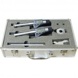 Micromètres 3 touches fond de gorge digital IP54