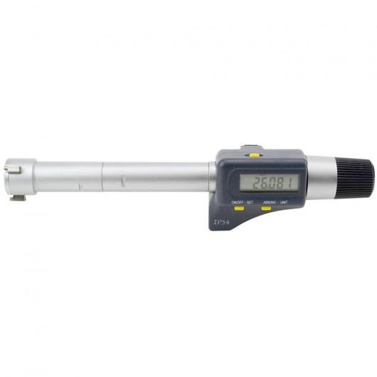 Micromètre 3 touches fond de gorge digital IP54