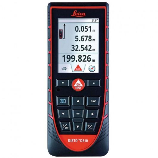 Lasermètre DISTO™ D510 : 200 M + Bluetooth