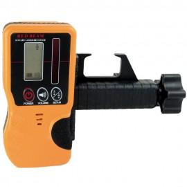 Récepteur sonore et lumineux pour laser