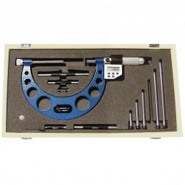 Micromètre digital à touches interchangeables