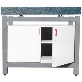 Ensemble marbre granit + support + armoire