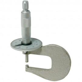 Micromètre à cadran pour parois de tube
