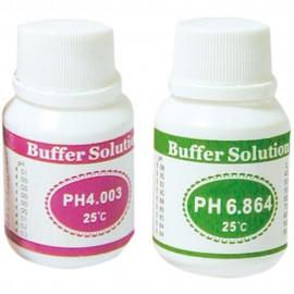 2 flacons de solutions pH