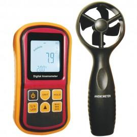 Anémomètre thermomètre digital