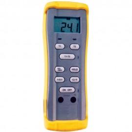 Thermomètre thermocouple PRO 2 entrées
