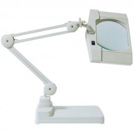 Lampe loupe lumineuse avec socle lourd