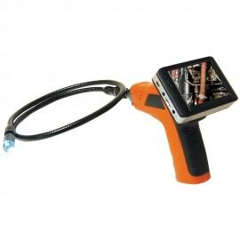 """Endoscope avec écran amovible 3,5"""" + flexible 2 mètres"""